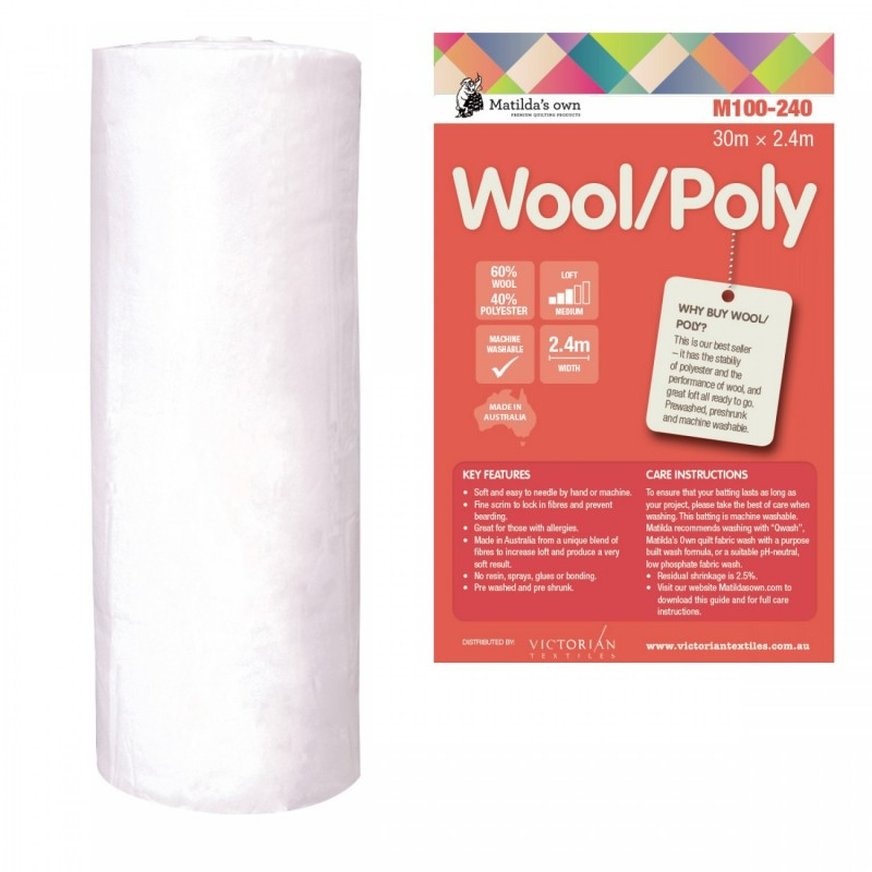 MATHILDAS OWN - Construction 60% wool/40% polyester