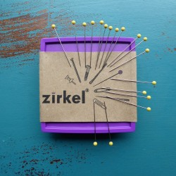 ZIRKEL - MAGNETIC PINCUSHION - PURPLE
