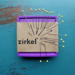 ZIRKEL-MAGNETIC PINCUSHION-LIME GREEN