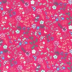 Látka L´s Modern Garden - FUCHSIA Lecien Japan - 1