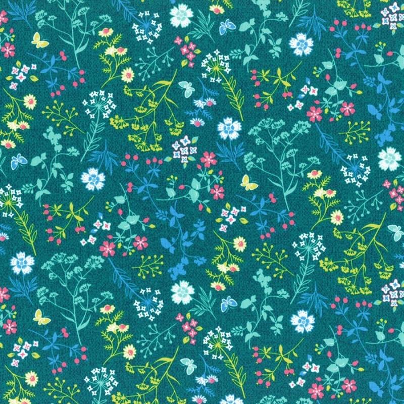 Látka L's Modern Garden - JADE  Lecien Japan - 1