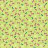 Látka L´s Modern Garden - PISTACHIO BUTTERFLIES
