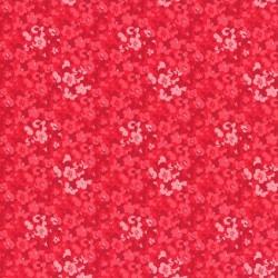 Látka L´s Modern Garden - CRABERRY PANSIES