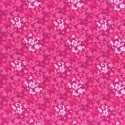Látka L´s Modern Garden - AZALEA PANSIES Lecien Japan - 1