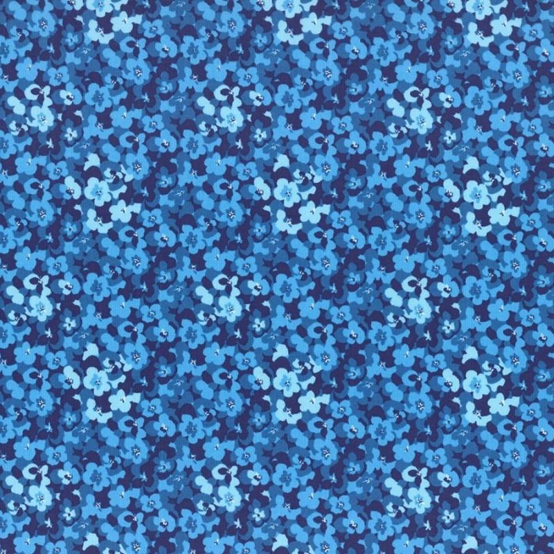 Substance Ls Modern Garden - COBALT BLUE PANSES