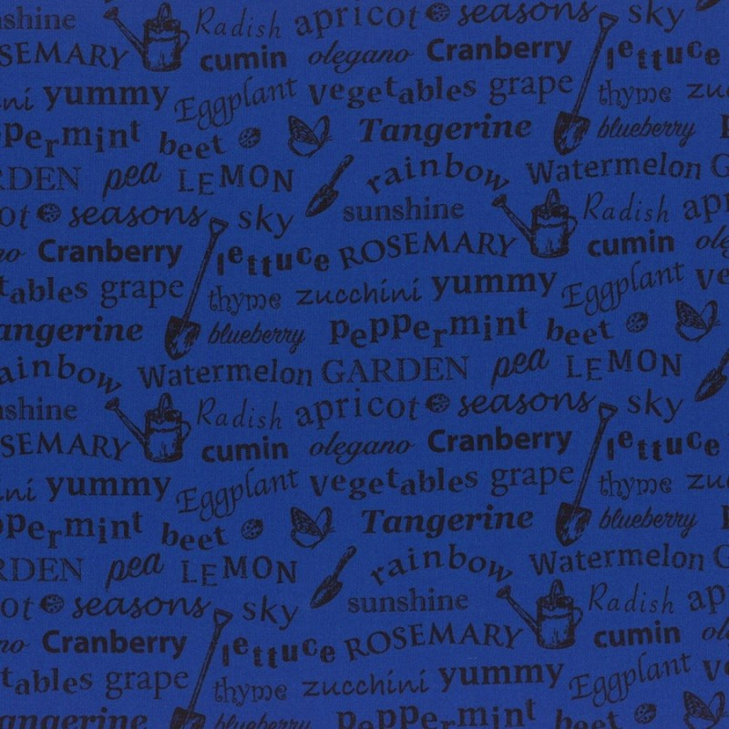 Substance Ls Modern Garden - INDIGO GARDEN TEXT