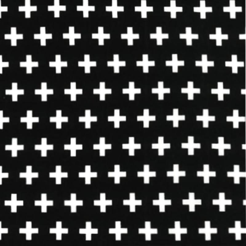 BLACK PLUS SIGNS Robert Kaufman - 1