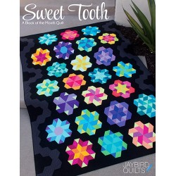 SWEET TOOTH - BLOCK OF THE MONTH Jaybird Quilts - 1