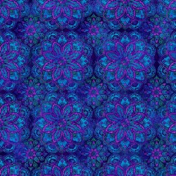 BLUE/PURPLE MEDALLION STUDIO E - 1