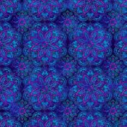 BLUE/PURPLE MEDALLION