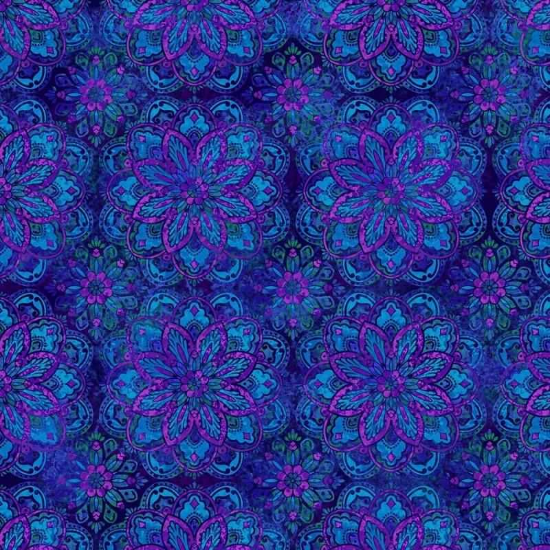 BLUE/PURPLE MEDALLION STUDIO E - 1