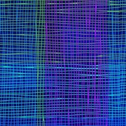 BLUE/GREEN PLAID