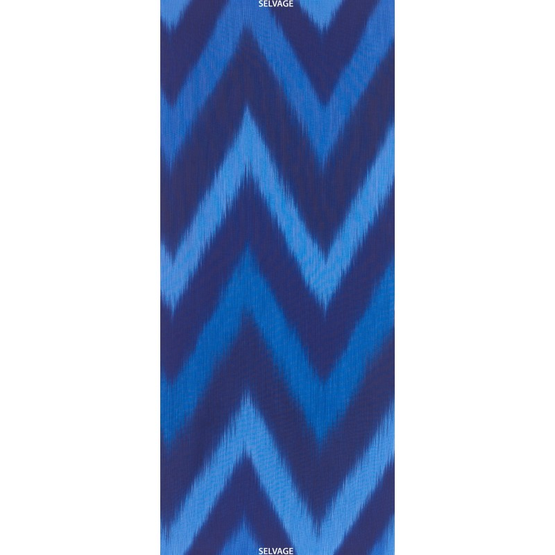 OMBRE FABRIC - BLUE IKAT
