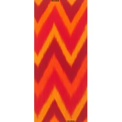 OMBRE FABRIC - FIRE IKAT