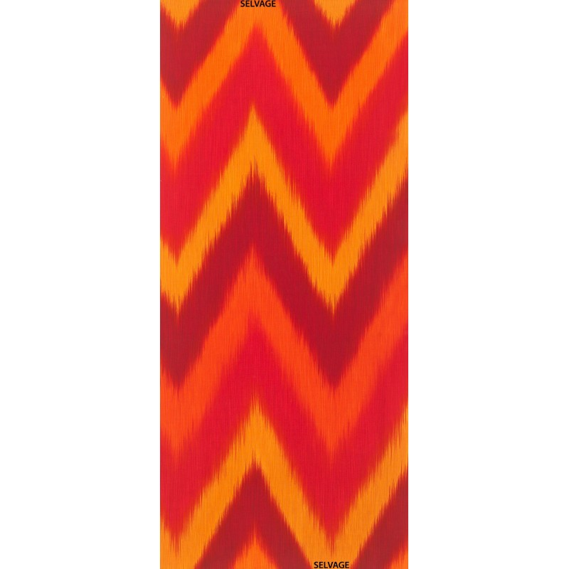 OMBRE LÁTKA - FIRE IKAT Timeless Treasures - 1