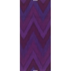 OMBRE FABRIC - PLUM IKAT