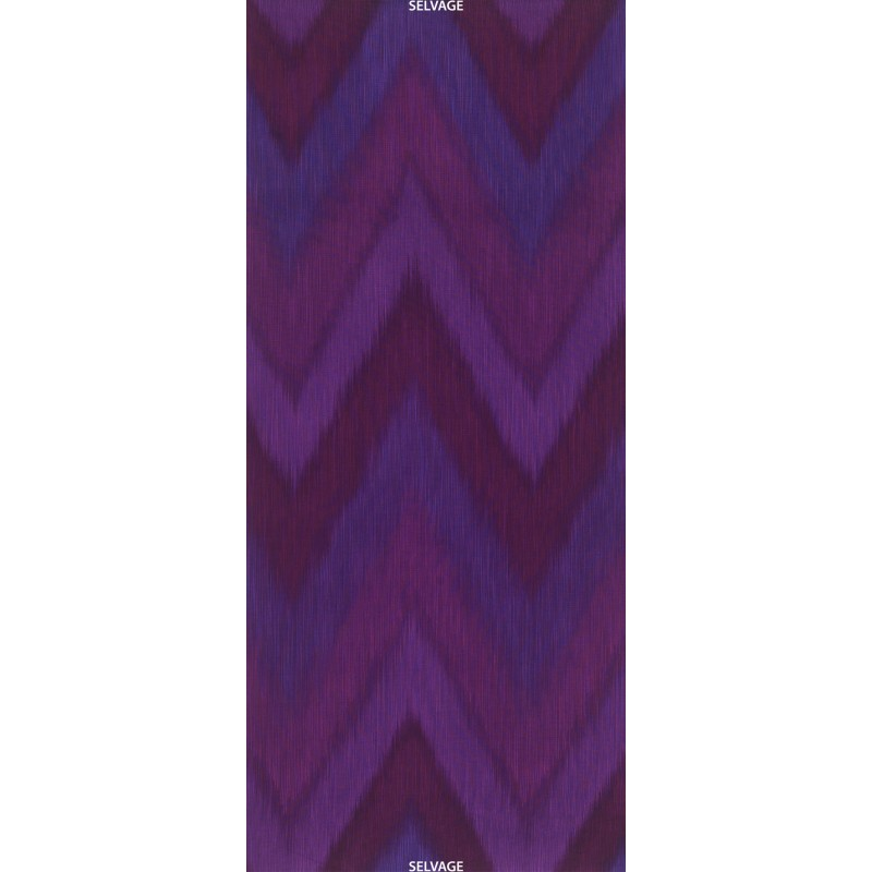 OMBRE LÁTKA - PLUM IKAT Timeless Treasures - 1