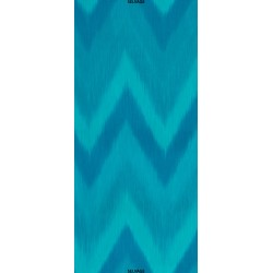 OMBRE LÁTKA - TURQUOISE IKAT Timeless Treasures - 1