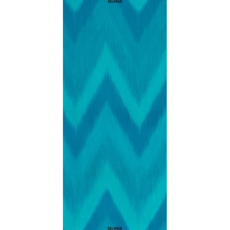 OMBRE FABRIC - TURQUOISE IKAT