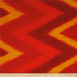 OMBRE LÁTKA - FIRE IKAT Timeless Treasures - 3
