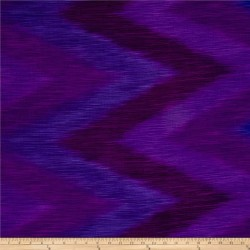 OMBRE LÁTKA - PLUM IKAT Timeless Treasures - 3