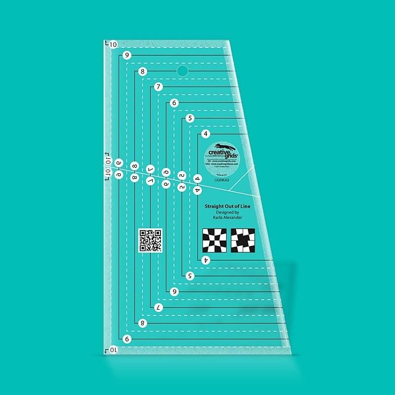 Pravítko na patchwork Straight Out Of Line  CREATIVE GRIDS - 1