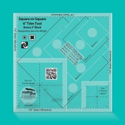 Creative Grids Square on Square Trim Tool - 6 дюймов