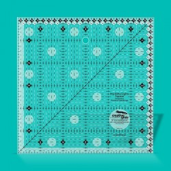 """Itty-Bitty Eights Square Ruler 6"""" x 6"""""""