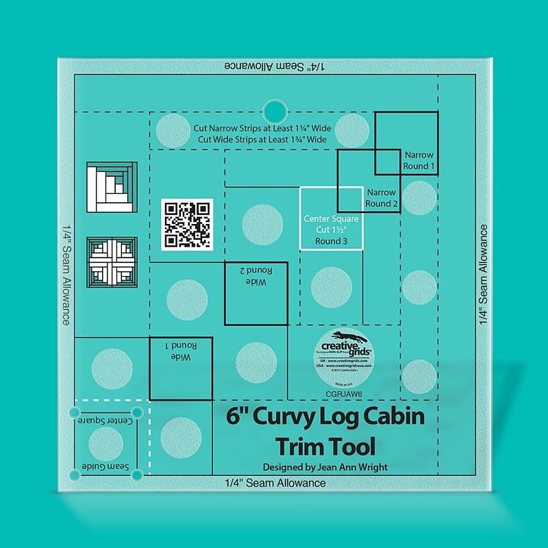 "Pravítko Curvy Log Cabin Trim Tool 6"""