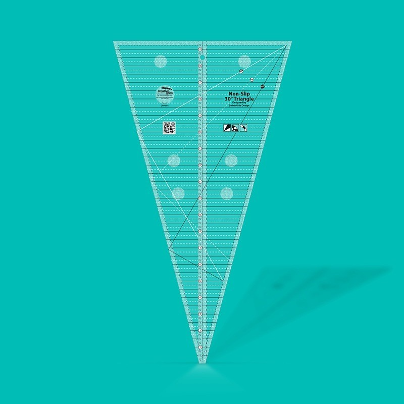 30 Degree Triangle Ruler CREATIVE GRIDS - 1