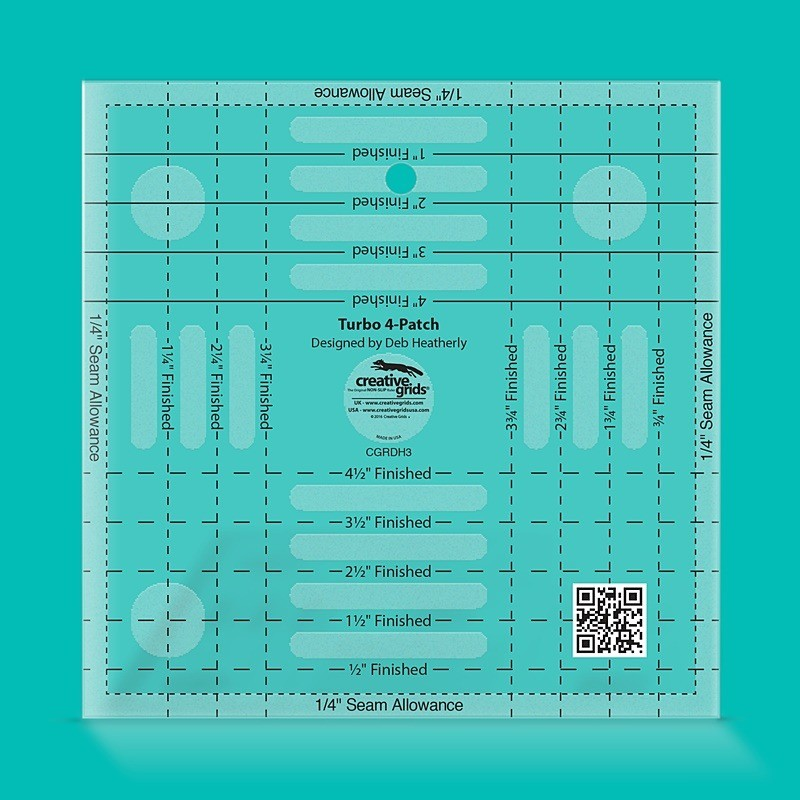 Creative Grids Turbo 4-Patch Template CREATIVE GRIDS - 1
