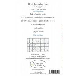 MOD STRAWBERRIES Sew Kind of Wonderful - 2