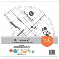 CLAMMY 12 IN RULER LATIFAH SAAFIR STUDIOS LLC - 1