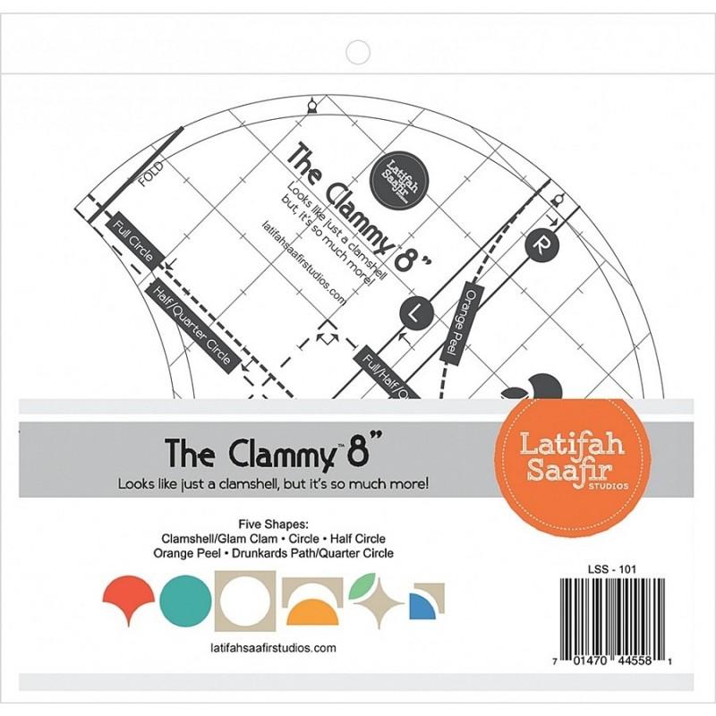 CLAMMY 8 IN RULER LATIFAH SAAFIR STUDIOS LLC - 1