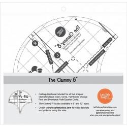 CLAMMY 8 IN RULER LATIFAH SAAFIR STUDIOS LLC - 3