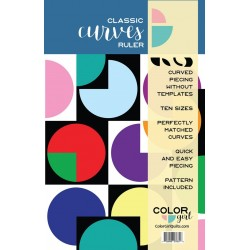 RULER CLASSIC CURVES COLOR GIRL QUILTS - 1