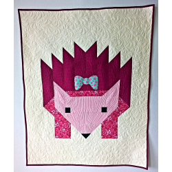 GRACE - BABY PATCHWORK QUILT IN THE MODERN STYLE
