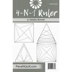 4-N-1 Ruler PIECE N QUILT - 1
