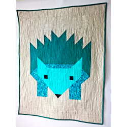 HUGO-BABY PATCHWOR QUILT IN A MODERN STYLE