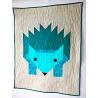 DEKY HUGO-DĚTSKÁ PATCHWOR DEKA V MODERNÍM STYLU 1700 Moderní dětská deka pro miminko nebo batole v hezkých barvách a roztomilý