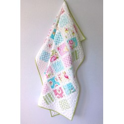 PATCHWORK-QUILT-BABY - SLEEPING BEAUTY