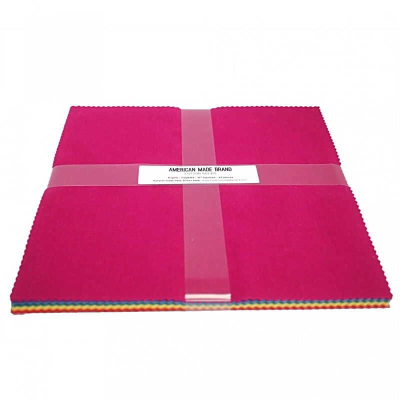 LAYER CAKE -AMERICAN MADE - BRIGHT COLORSTORY CLOTHWORKS - 1