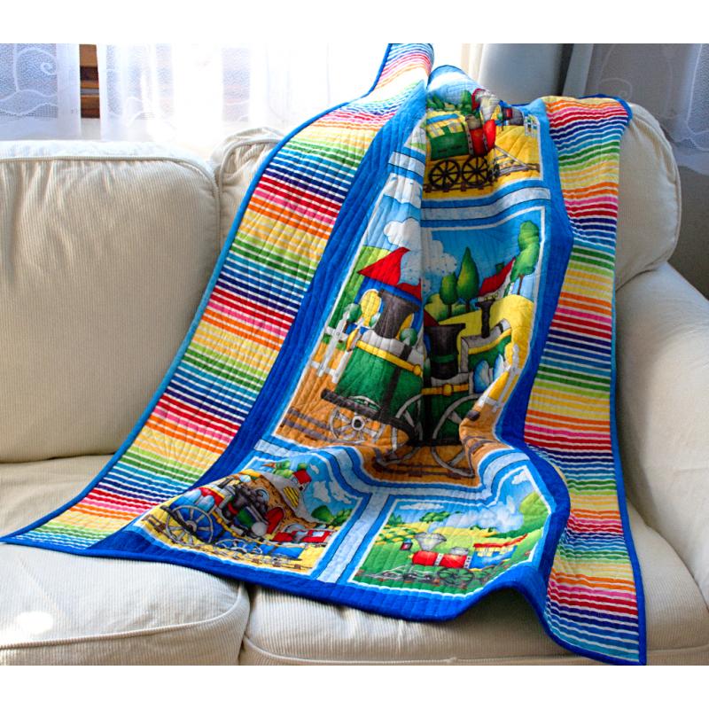 Toddler Quilt for Sale, Patchwork Quilt, Handmade Quilt