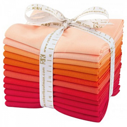 KONA COTTONS-DARLING CLEMENTINE-a FQ BUNDLE of 12 pcs