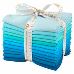 KONA COTTONS-POOL PARTY-FQ BUNDLE 12 ks Robert Kaufman - 1