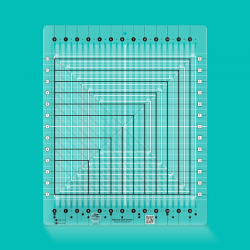 Stripology Squared Ruler CREATIVE GRIDS - 1