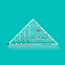 HALF SQUARE 4- IN-1 TRIANGLE RULER