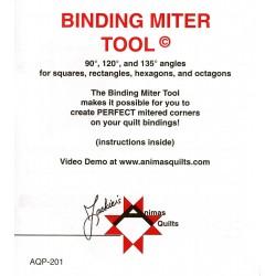 BINDING MITTER TOOL ANIMAS QUILTS PUBLISHING - 2