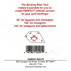 BINDING MITTER TOOL ANIMAS QUILTS PUBLISHING - 4