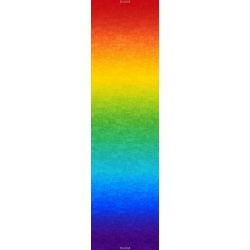 OMBRE STOFF - MULTI RAINBOW ABSTUFUNG
